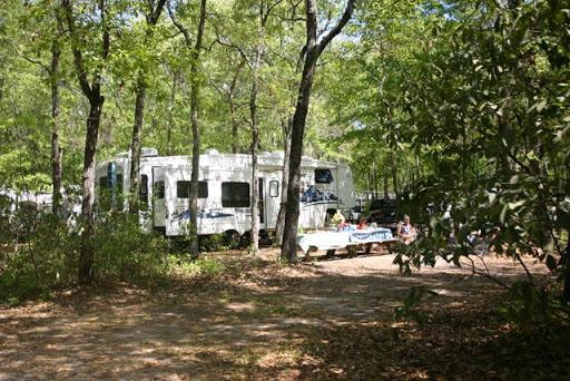 Tuck In The Wood Campground St Helena South Carolina