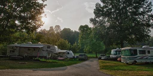 Milton West Virginia Campground Huntington Fox Fire Koa