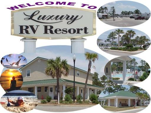 Gulf Breeze Rv Resort Gulf Shores Alabama Us Parkadvisor