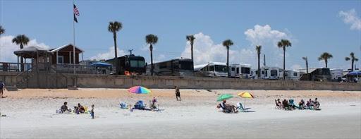 Beverly Beach Camptown Rv Resort Flagler Beach Florida