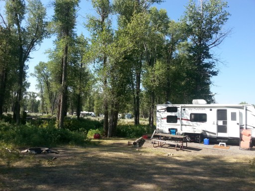 Gros Ventre Campground - Grand Teton National Park, Wyoming